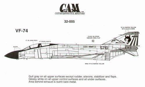 CAM 1/32 McDonnell F-4J Phantom # 32005