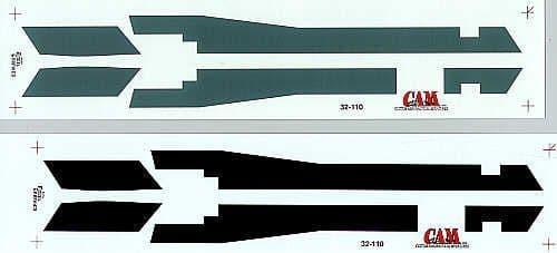CAM 1/32 McDonnell F-4J Phantom Walkways USN/USMC # 32110