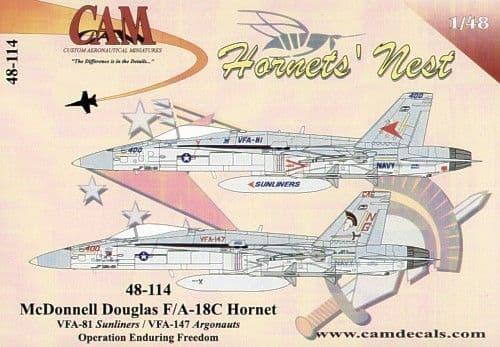 CAM 1/48 McDonnell-Douglas F/A-18C # 48114