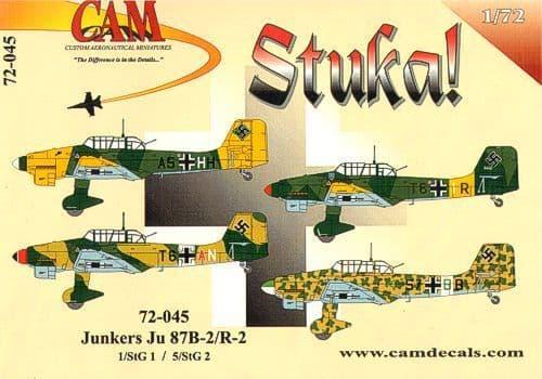 CAM 1/72 Junkers Ju-87B-2/R2 # 72045