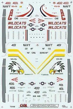 CAM 1/72 McDonnell-Douglas F/A-18C # 72008