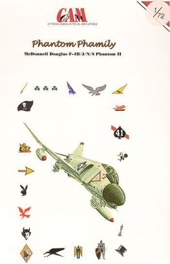CAM 1/72 McDonnell Phantom FGR.2 # 72042