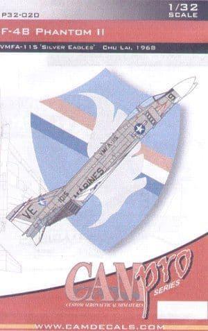 CAM PRO 1/32 McDonnell F-4B Phantom # 3220