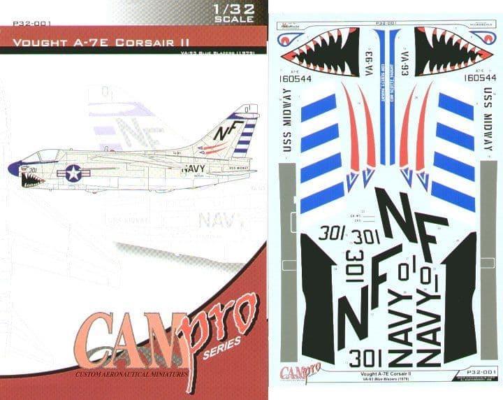 CAM PRO 1/32 Vought A-7E Corsair # 3201