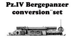 CMK 1/48 Pz.IV Bergepanzer Conversion Set # 8009