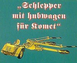 CMK 1/48 Schleup-Schlepper Tractor for Me163B # 4090