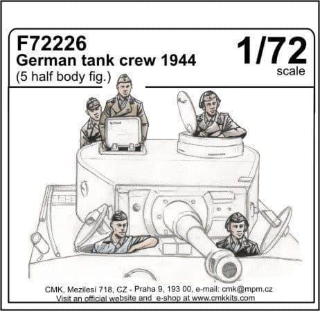 CMK 1/72 German Tank Crew 1944 # F72226