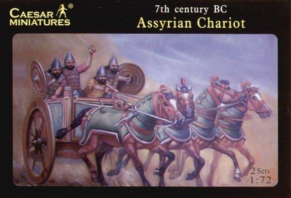Caesar Miniatures 1/72 Assyrian Chariots # 011