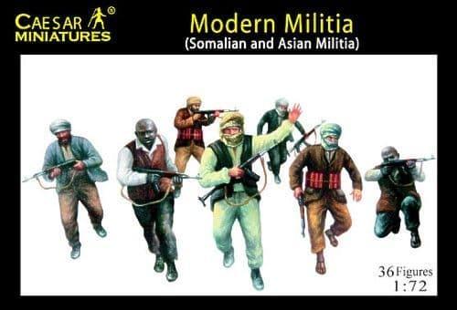 Caesar Miniatures 1/72 Modern Militia # 063