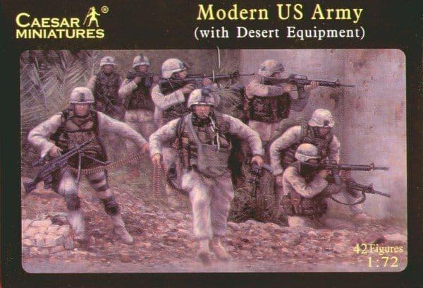 Caesar Miniatures 1/72 Modern US Army (with Desert Equipment) #