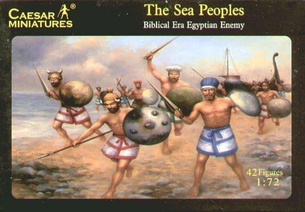 Caesar Miniatures 1/72 The Sea Peoples # 048