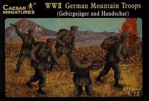 Caesar Miniatures 1/72 WWII German Mountain Troops (Gebirgsjager
