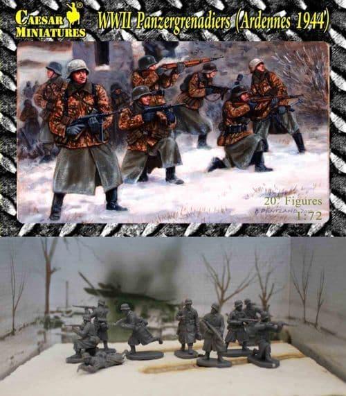 Caesar Miniatures 1/72 WWII Panzergrenadiers (Western Front 1944