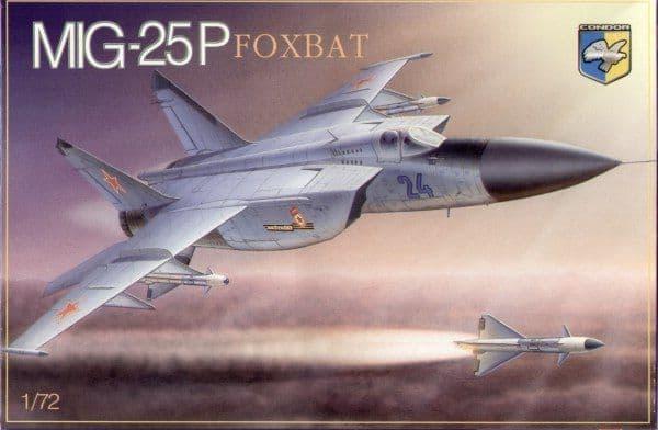 Condor 1/72 MiG-25P Foxbat # 72012