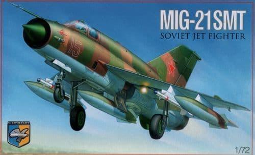 Condor Ukraine 1/72 MiG-21SMT Soviet Jet Fighter # 72010