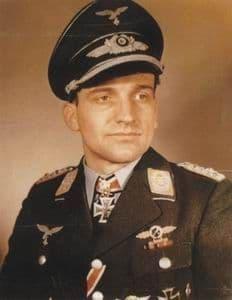 Czech Master 1/32 H.J.Ruddel Luftwaffe Ace # F32154