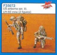 Czech Master 1/35 2 x US Airborne UH-60 crew 3 # F35072