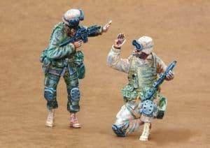 Czech Master 1/35 2 x US Infantry Freedom Iraq part 1 # F35163