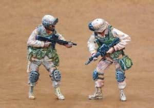 Czech Master 1/35 2 x US Infantry Freedom Iraq part 3 # F35165