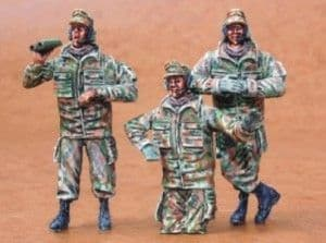 Czech Master 1/35 Bundeswehr tankers winter. Set contains 2,1/2