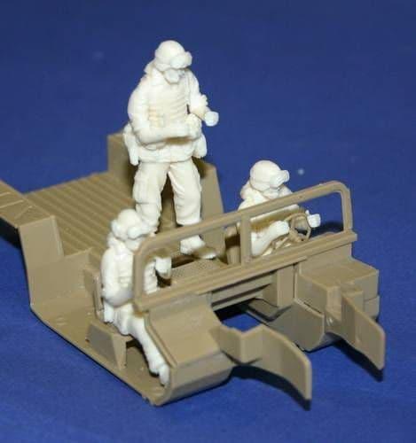 Czech Master 1/35 Hummer Crew 3 Figures # F35200