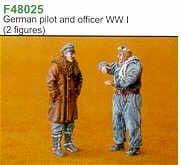 Czech Master 1/48 German Pilot & Officer WWI # F48025