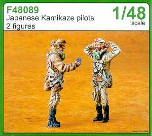Czech Master 1/48 Japanese Kamikaze pilot x 2 # F48089