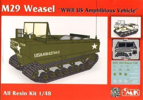 Czech Master 1/48 M29 Weasel # 8049