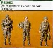 Czech Master 1/48 US helicopter crew Vietnam x 3 F48053