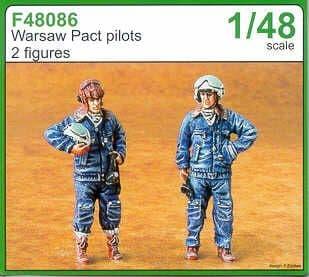 Czech Master 1/48 Warsaw Pact pilots x 2 # F48086