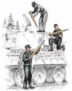 Czech Master 1/72 German Armourers for Tiger I (3 figures) # F72