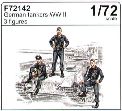 Czech Master 1/72 German tankers WWII # F72142