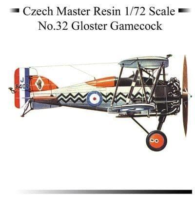 Czech Master 1/72 Gloster Gamecock # 32