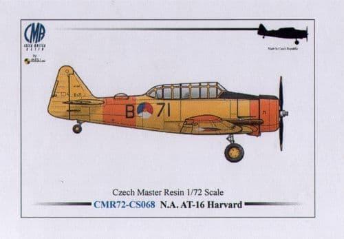 Czech Master Resin 1/72 AT-16 Harvard Dutch Texan conversion # CS68