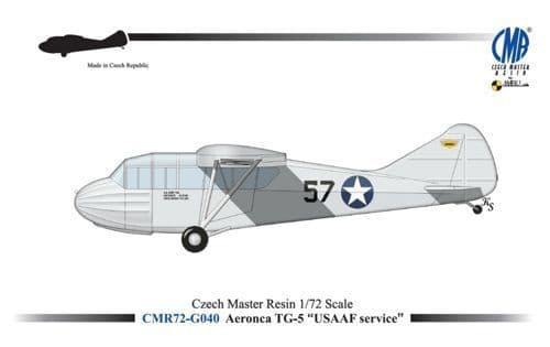 Czech Master Resin 1/72 Aeronca TG-5 USAAF # 72-G040