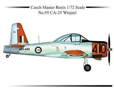 Czech Master Resin 1/72 CA-25 Winjeel # 5095