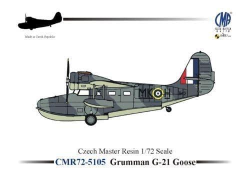 Czech Master Resin 1/72 Grumman G-21 Goose # 5105
