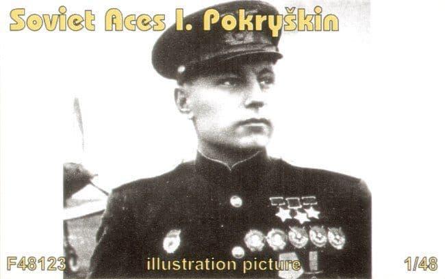 Czech Mater 1/48 Soviet Aces I. Pokryskin (1 fig. for P-39) # F4