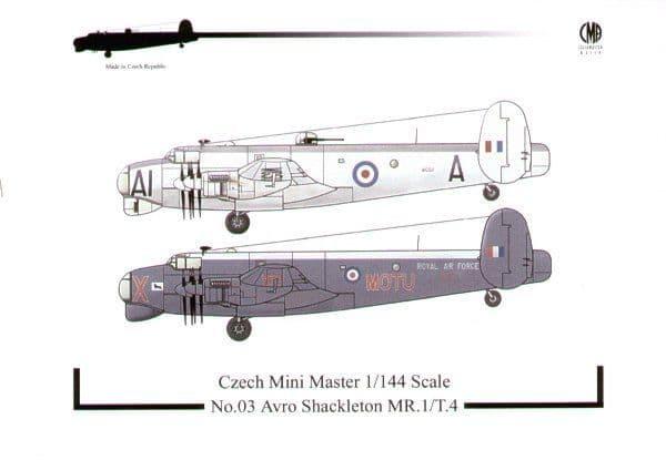 Czech Mini Master 1/144 Avro Shackleton MR. 1/T. 4 # 03