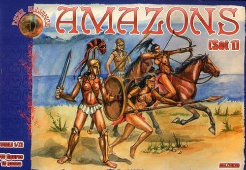 Dark Alliance 1/72 Amazons Set 1 # PAL72020