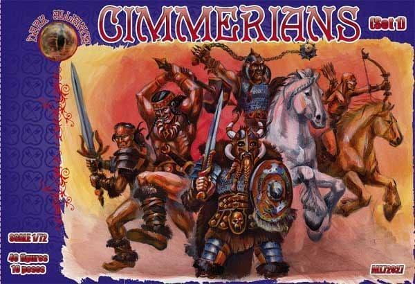 Dark Alliance 1/72 Cimmerians Set 1 # PAL72027