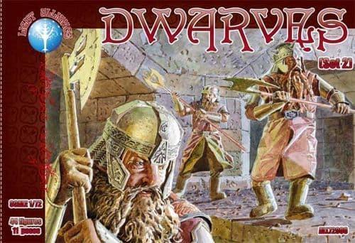 Dark Alliance 1/72 Dwarves Set 2 # PAL72008