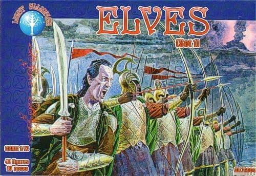 Dark Alliance 1/72 Elves set 1 # PAL72004