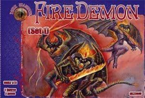 Dark Alliance 1/72 Fire Demon Set 1 # ALL72035