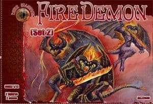 Dark Alliance 1/72 Fire Demon Set 2 # ALL72036