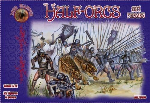 Dark Alliance 1/72 Half-Orcs Set 1 # PAL72015