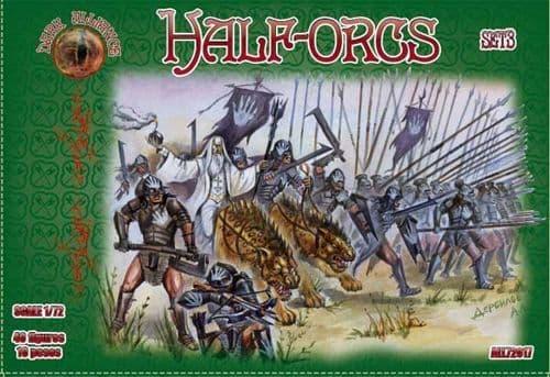 Dark Alliance 1/72 Half-Orcs Set 3 # PAL72017