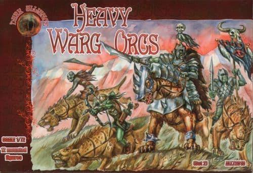 Dark Alliance 1/72 Heavy Warg Orcs # 72010
