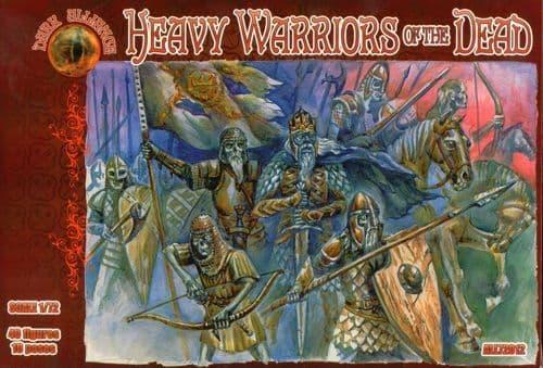 Dark Alliance 1/72 Heavy Warriors of the Dead # PAL72012