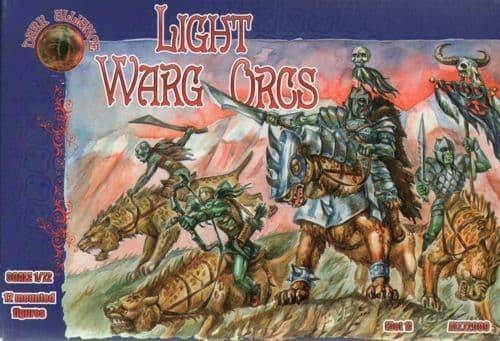 Dark Alliance 1/72 Light Warg Orcs # 72009